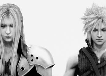 FF - Sephiroth - Cloud by Dignity13