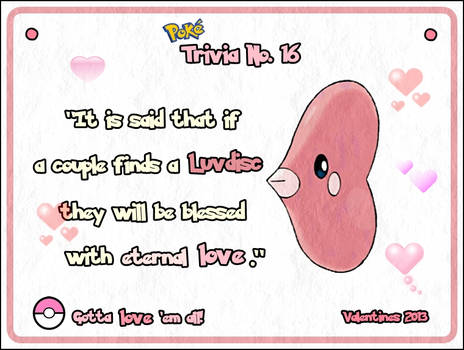 PokeTrivia No. 16 (Valentine's Day Special)