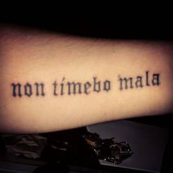 Non timebo mala - Part II