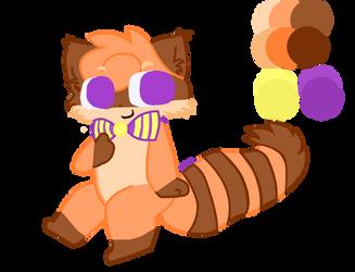 My FNAF OC, Rascal the Raccoon! by ZigtheZag