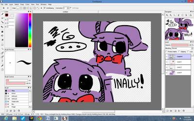 Bonnie is finally drawn good! by ZigtheZag