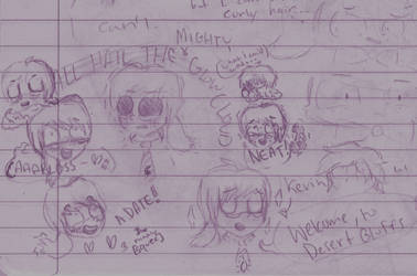 Night Vale doodles! by ZigtheZag