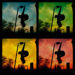 Andy Warhol Skateboarding