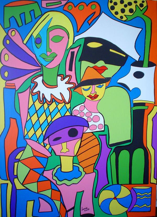 Fellini's Circus by luciasolda