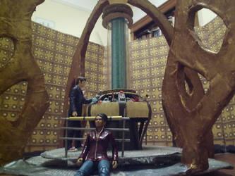 Doctor Who Tardis interior by ShadowtheImmortal