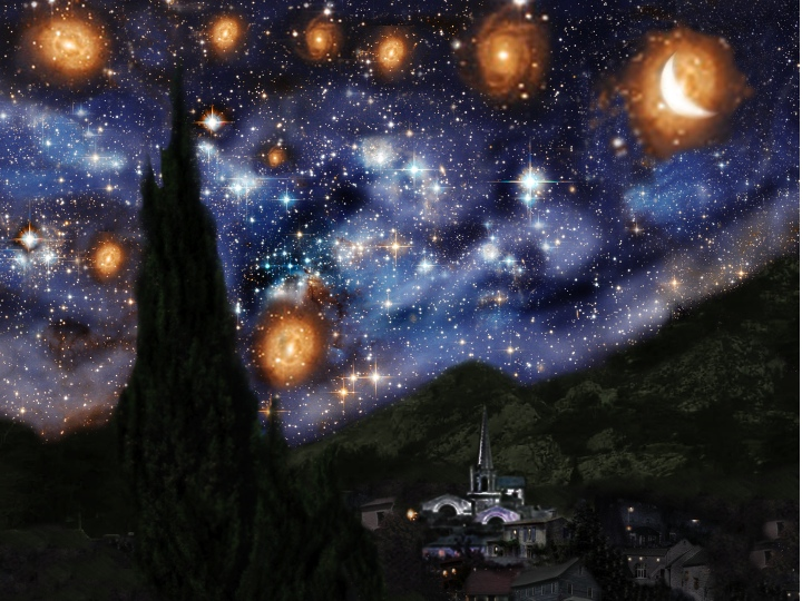 Starry Starry Night By ViolentColorRoses On DeviantArt
