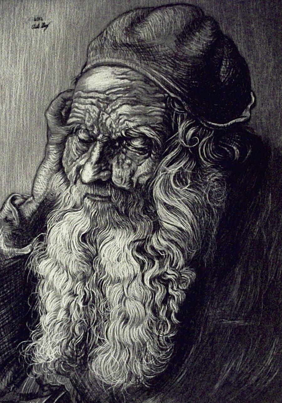 Master Copy ~ Albreicht Durer by Christa-S-Nelson