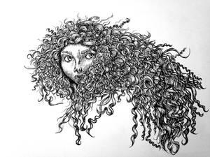 Merida Line Art