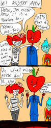 Mister apple by Crazybirdanimations