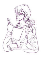 Gauth in Glasses by Vanilleon