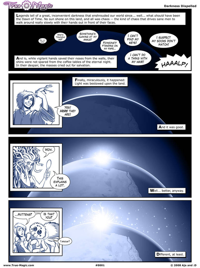 True Magic, the Comic - Page 1