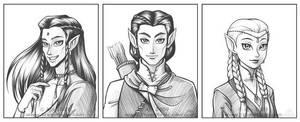 Elven Trio