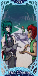 Webcomics Tarot - The Chariot by Vanilleon