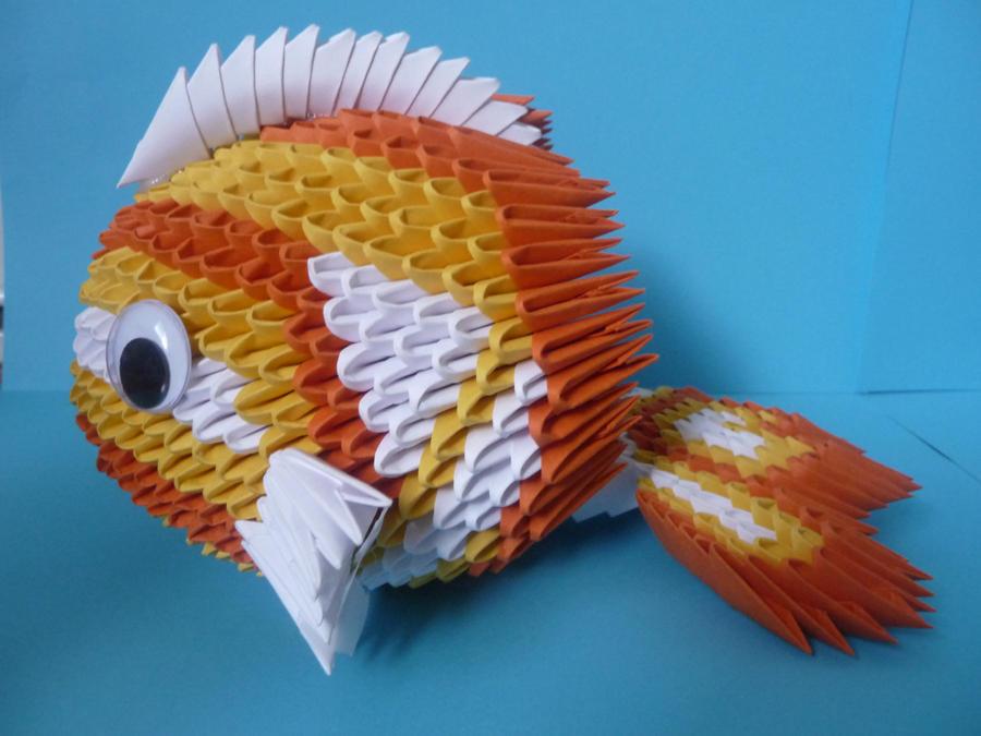 3d origami koi fish by xxmystic heartxx on deviantart for Origami koi fish