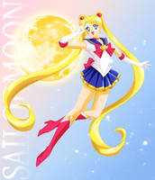Sailor Moon, Golden Form by ParlourTricks