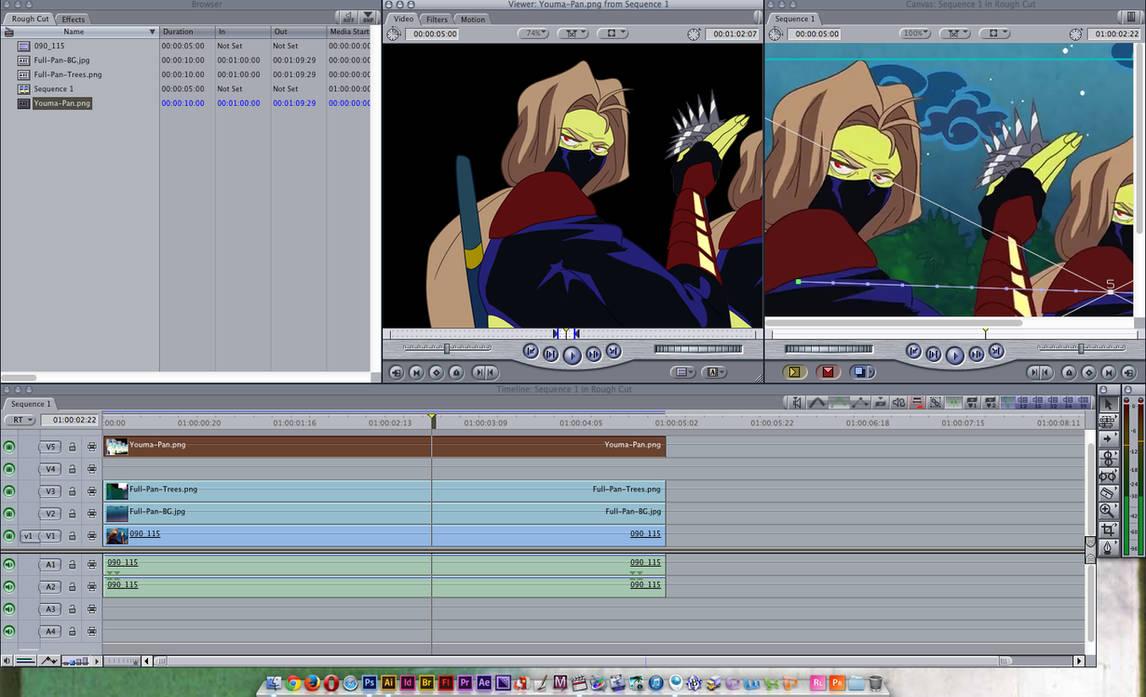 Final cut pro image animation