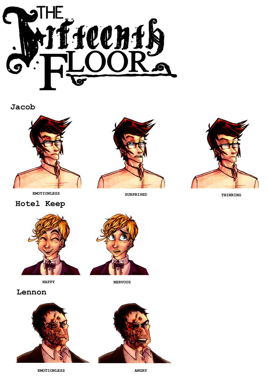 15th floor character designs by real faker on deviantart for 15th floor