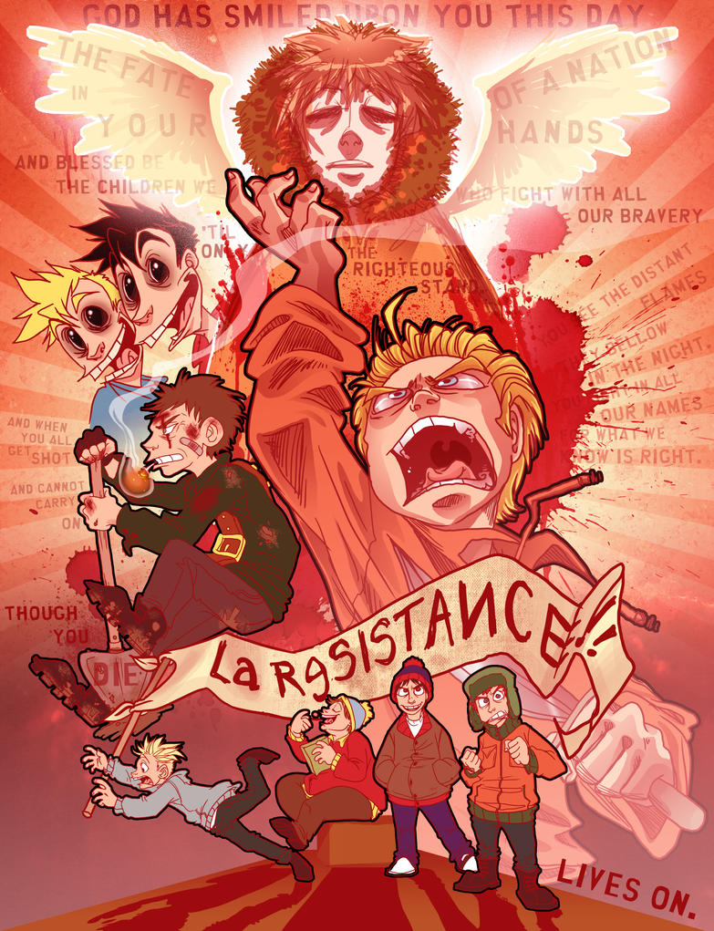 LA RESISTANCE by real-faker