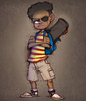 Commission: the Kid Detective by real-faker