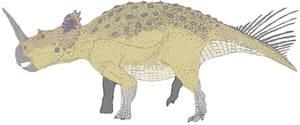 Centrosaurus in color