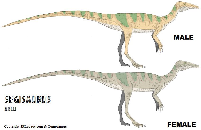 LtL Segisaurus by Tomozaurus