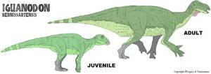 LtL Iguanodon by Tomozaurus