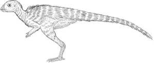 Jeholosaurus Juvenile Lines