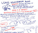 Velociraptor's Image Part 3 - Theropod parade