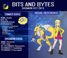 Digimon - Bits and Bytes OCT Application by Tomozaurus