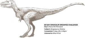 30 Day Dinosaur Drawing Challenge 1
