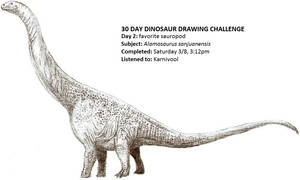 30 Day Dinosaur Drawing Challenge 2 by Tomozaurus