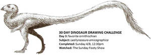 30 Day Dinosaur Drawing Challenge 3 by Tomozaurus
