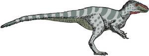 Yutyrannus digital sketch