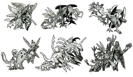 Digital Monsters v3-5