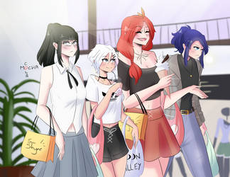 out shopping by mocha-cola
