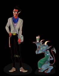Hipster Villains: Mephisto by JackSquash