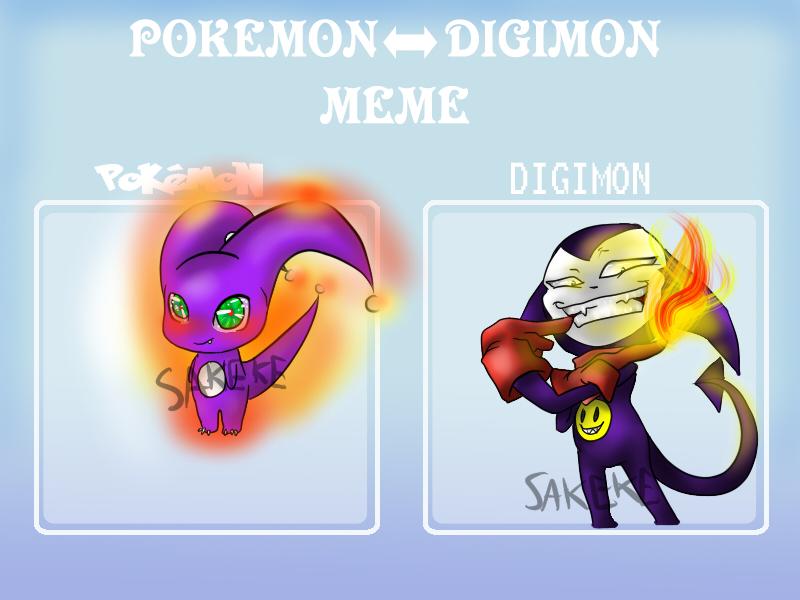 Impmon Pokemon Meme redux by Sakeke
