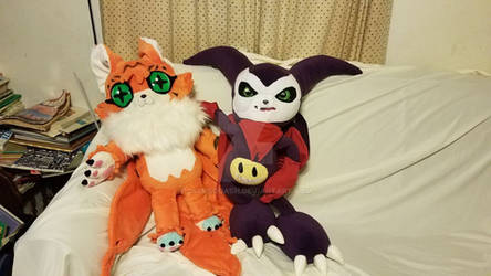 Meicoomon and Impmon
