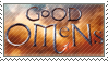 Good Omens Stamp by Woods-Of-Lynn