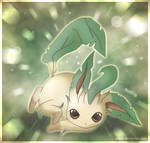 Flora the Leafeon