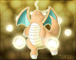 Dragonite, hidden power by Wakki
