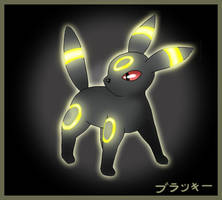 Umbreon, flash by Wakki