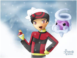 It is snowing by Wakki