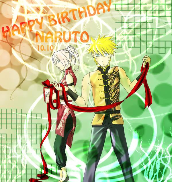 HAPPY BIRTHDAY NARUTO By NightLiight On DeviantArt