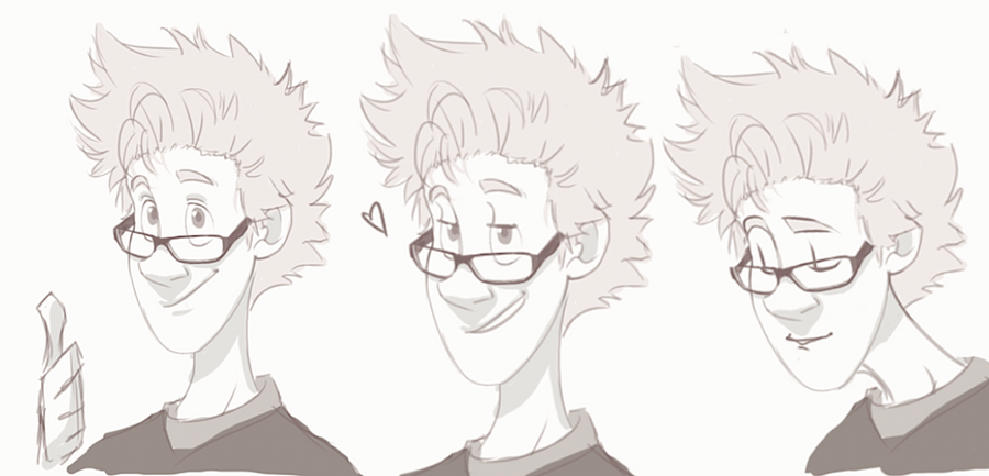Glasses - Johnny by NightLiight