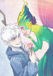 Frosted Rose - Jack and Toothiana