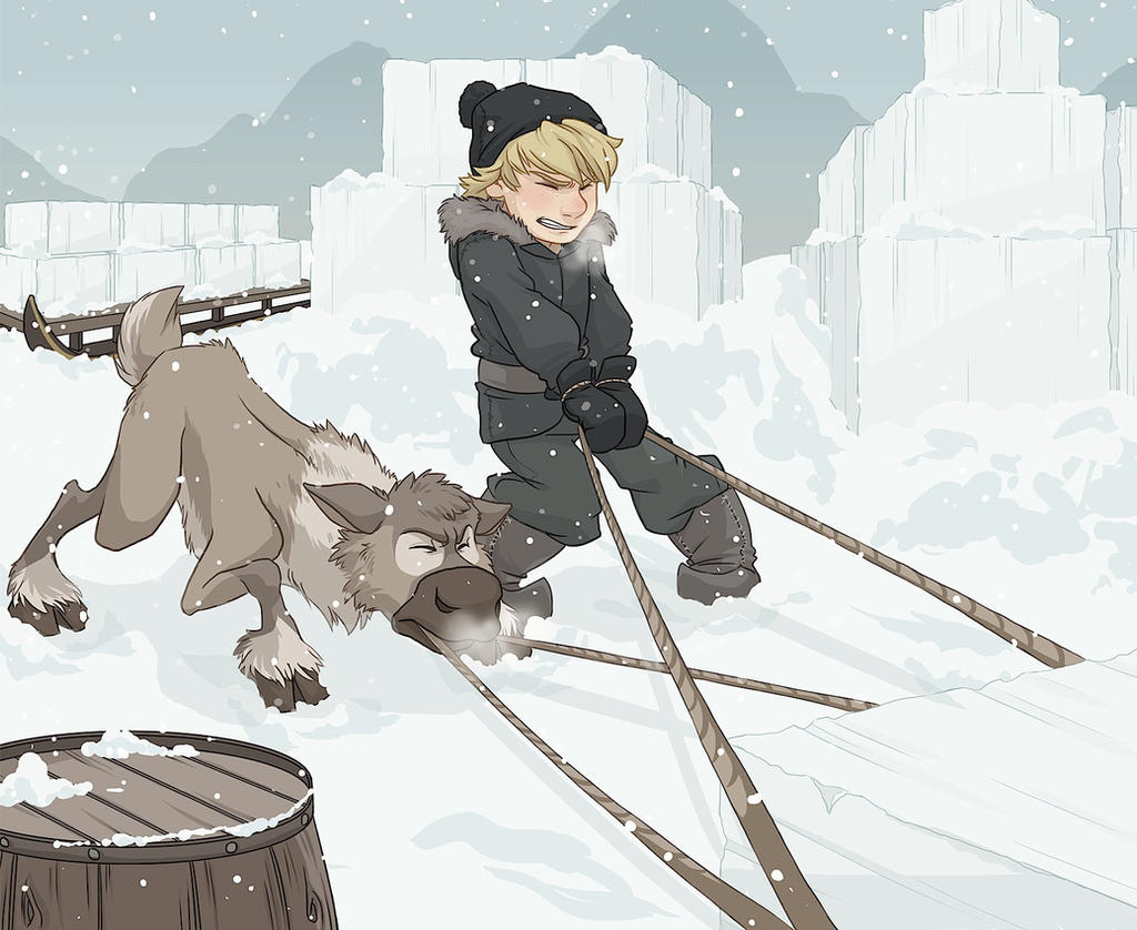 Teamwork - Kristoff and Sven