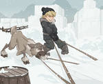 Teamwork - Kristoff and Sven