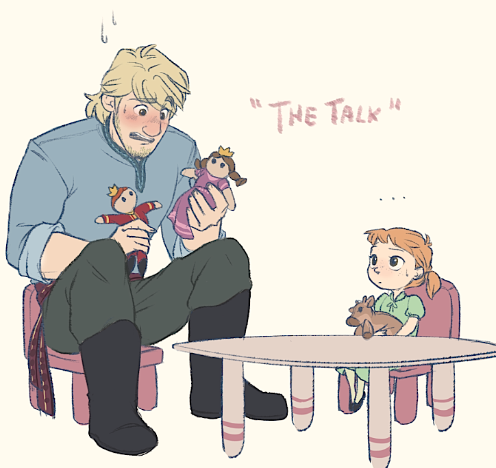 The Talk - Kristoff and Heidi by xxMeMoRiEzxx
