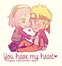 You Have My Heart - NaruSaku Valentines